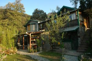 Mountain Quail Camp lodge at Pangot