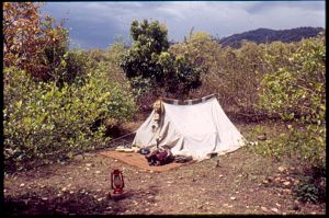 My tent at CC 1987